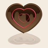 αγάπη choco Στοκ εικόνες με δικαίωμα ελεύθερης χρήσης