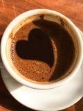Αγάπη Coffe Στοκ Εικόνες