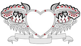 Αγάπη Doodle διανυσματική απεικόνιση