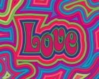 Αγάπη Groovy Στοκ Εικόνες