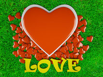 Αγάπη & hearts3 Στοκ Φωτογραφίες