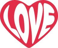 Αγάπη - hippie εικόνα Στοκ Εικόνα