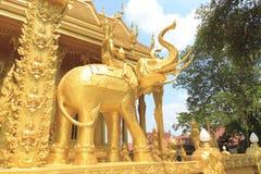 Αγάλματα ελεφάντων Στοκ φωτογραφίες με δικαίωμα ελεύθερης χρήσης