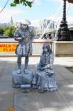 Αγάλματα διαβίωσης στο Γουέστμινστερ Στοκ φωτογραφία με δικαίωμα ελεύθερης χρήσης