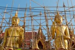 Αγάλματα κάτω από τη συντήρηση Στοκ Εικόνες