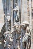 Αγάλματα καθεδρικών ναών του Μιλάνου Στοκ Εικόνες