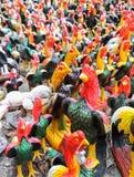 Αγάλματα κοτόπουλου Στοκ εικόνες με δικαίωμα ελεύθερης χρήσης