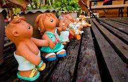 Αγάλματα παιδιών Στοκ φωτογραφία με δικαίωμα ελεύθερης χρήσης