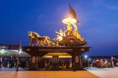 Αγάλματα σε Rishikesh Στοκ Εικόνα
