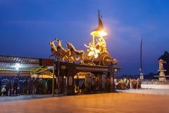 Αγάλματα σε Rishikesh Στοκ εικόνα με δικαίωμα ελεύθερης χρήσης