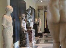 Αγάλματα στα μουσεία Capitoline της Ρώμης Στοκ Φωτογραφίες