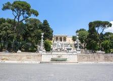 Αγάλματα της θεάς της πηγής της Ρώμης Στοκ Εικόνες