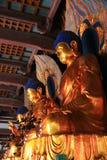 Αγάλματα του Βούδα σε ένα Termple στοκ φωτογραφίες