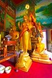 Αγάλματα του Βούδα στο ναό στην Ταϊλάνδη Στοκ φωτογραφίες με δικαίωμα ελεύθερης χρήσης