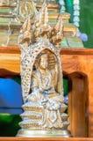 αγάλματα του Βούδα στοκ φωτογραφία