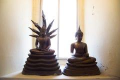 αγάλματα του Βούδα Στοκ Εικόνες