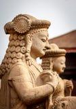 Αγάλματα του Θεού σε Bhaktapur, Νεπάλ Στοκ εικόνες με δικαίωμα ελεύθερης χρήσης