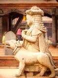 Αγάλματα του Θεού σε Bhaktapur, Νεπάλ Στοκ Εικόνες