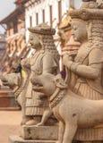 Αγάλματα του Θεού σε Bhaktapur, Νεπάλ Στοκ Φωτογραφίες