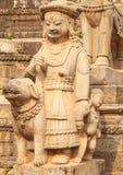 Αγάλματα του Θεού σε Bhaktapur, Νεπάλ Στοκ φωτογραφία με δικαίωμα ελεύθερης χρήσης