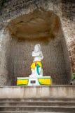 Αγάλματα του ινδού Θεού arjuna Στοκ Φωτογραφία