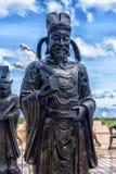 Αγάλματα των κινεζικών μοναχών Shaolin Στοκ Φωτογραφίες