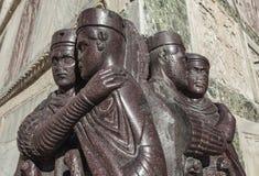 Αγάλματα των ρωμαϊκών κυβερνητών Στοκ Εικόνες