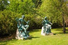 Αγάλματα Στοκ Εικόνες