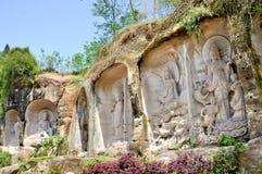 Βουνό Grottoes Lingyun στοκ φωτογραφία