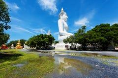 Αγάλματα Budddha σε Wat Phai Rong Wua, Suphanburi στοκ εικόνες