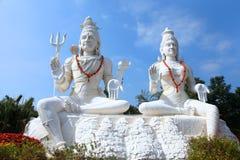 Αγάλματα Parvathi Shiva Στοκ εικόνες με δικαίωμα ελεύθερης χρήσης