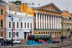 Αγία Πετρούπολη, άποψη του αγγλικού αναχώματος Στοκ φωτογραφίες με δικαίωμα ελεύθερης χρήσης
