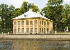 Αγία Πετρούπολη, θερινό παλάτι Στοκ εικόνα με δικαίωμα ελεύθερης χρήσης