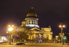 Αγία Πετρούπολη, καθεδρικός ναός του ST Isaak Στοκ εικόνες με δικαίωμα ελεύθερης χρήσης