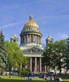 Αγία Πετρούπολη, καθεδρικός ναός του ST Isaak (Isaakievskiy) Στοκ εικόνες με δικαίωμα ελεύθερης χρήσης