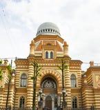 Αγία Πετρούπολη, μεγάλη συναγωγή. Στοκ Εικόνες