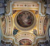 Αγία Πετρούπολη, Ρωσία, εσωτερική άποψη του ST Isaac Cathedral Στοκ Φωτογραφίες