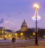 Αγία Πετρούπολη, Ρωσία, καθεδρικός ναός του ST Isaak Στοκ εικόνες με δικαίωμα ελεύθερης χρήσης