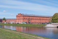 Αγία Πετρούπολη, Ρωσία - 27 Μαΐου 2017: Η οικοδόμηση του στρατιωτικού μουσείου ιστορίας του πυροβολικού Προηγούμενη οικοδόμηση το Στοκ φωτογραφία με δικαίωμα ελεύθερης χρήσης