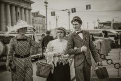 Αγία Πετρούπολη αναδρομική Στοκ εικόνες με δικαίωμα ελεύθερης χρήσης