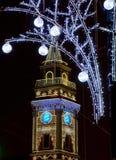 Αγία Πετρούπολη, νύχτα Nevsky Prospekt, Ρωσία στοκ φωτογραφία με δικαίωμα ελεύθερης χρήσης