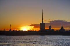 Αγία Πετρούπολη, Ρωσία, ο Peter και ο καθεδρικός ναός του Paul Στοκ φωτογραφίες με δικαίωμα ελεύθερης χρήσης