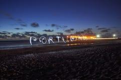 Αγαπάμε την Πορτογαλία Στοκ φωτογραφία με δικαίωμα ελεύθερης χρήσης