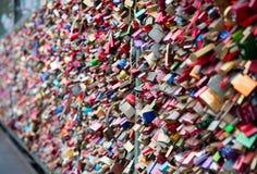 Αγαπήστε τα κλειδώματα Στοκ φωτογραφία με δικαίωμα ελεύθερης χρήσης