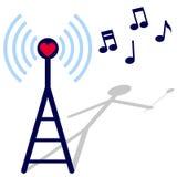αγαπήστε το ραδιόφωνο Στοκ φωτογραφία με δικαίωμα ελεύθερης χρήσης