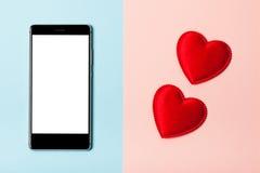 Αγαπήστε το τηλέφωνο Στοκ φωτογραφία με δικαίωμα ελεύθερης χρήσης