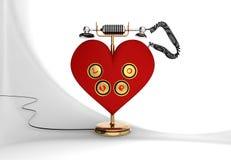 Αγαπήστε το τηλέφωνο Στοκ φωτογραφίες με δικαίωμα ελεύθερης χρήσης