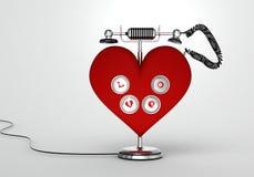Αγαπήστε το τηλέφωνο Στοκ εικόνα με δικαίωμα ελεύθερης χρήσης