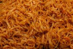 Αγαπημένα ταϊλανδικά τρόφιμα νουντλς μαξιλαριών ταϊλανδικά Στοκ φωτογραφία με δικαίωμα ελεύθερης χρήσης