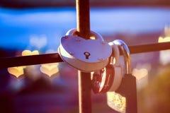 Αγαπημένος κλειδαριών σιδήρου Στοκ φωτογραφία με δικαίωμα ελεύθερης χρήσης